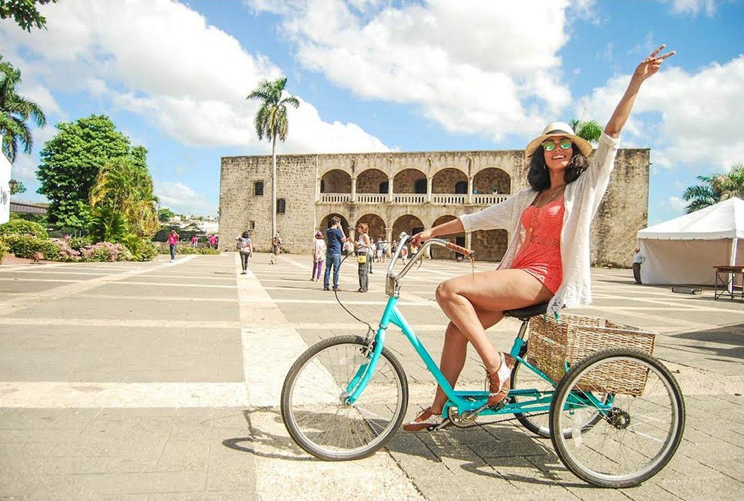Ontdek Santo Domingo op de fiets